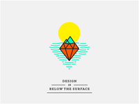 Design is below the surface