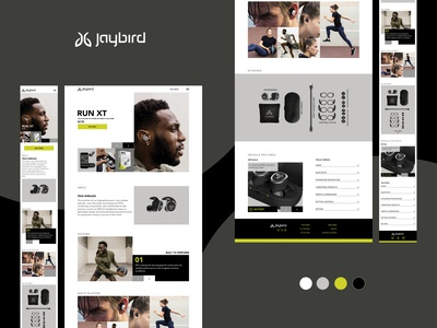 Jaybird Bluetooth headphones website