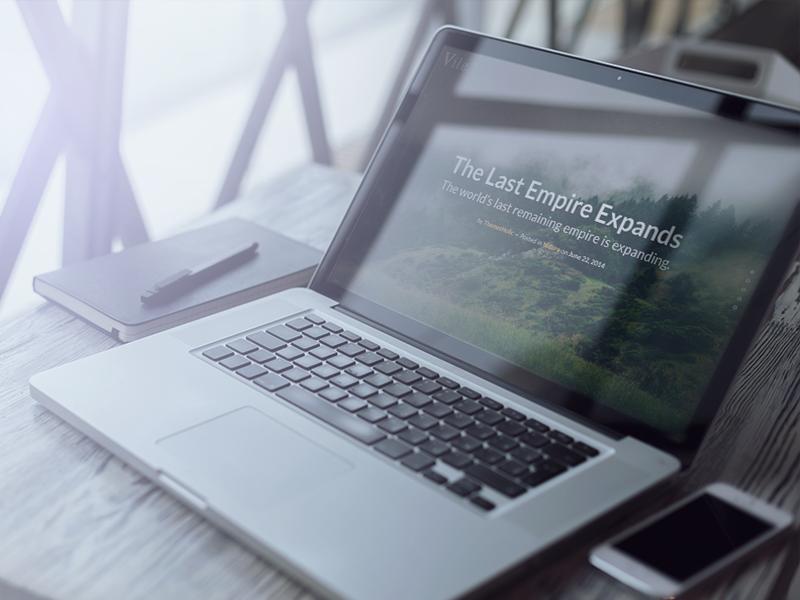 Free WordPress Theme - Vile wordpress free theme blog