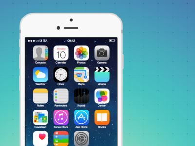 CSS3 iPhone 6 Boot