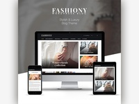 Fashiony | Stylish and Luxury Blog Theme