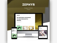 Zephyr | Creative Portfolio Theme
