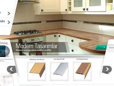 Tesay tesay profil profile aluminium aluminyum