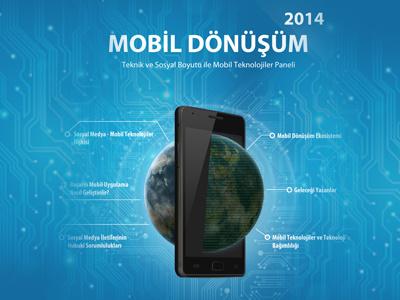 Mobil Dönüşüm 2014 Afiş brand