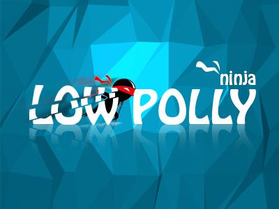 Low Polly Ninja low polly