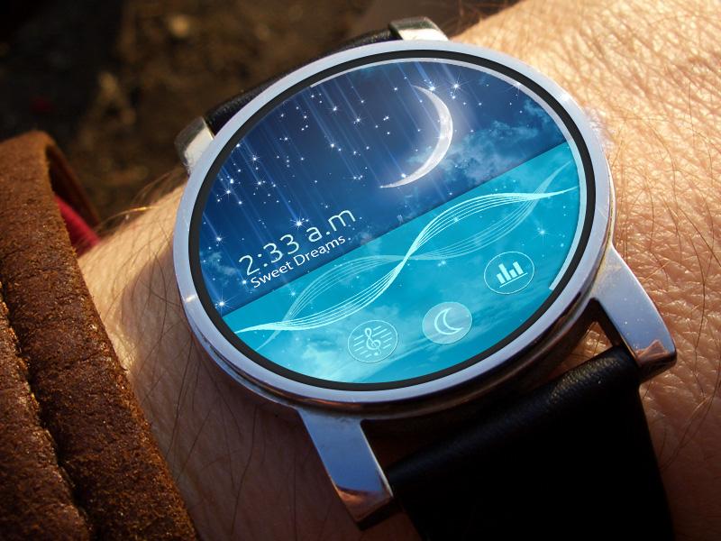 Sleep Track Android Wear app sleep sleep track music andriod wear clock
