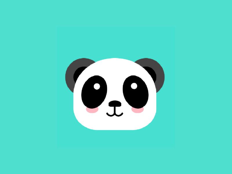 CSS Panda illustration kawaii css
