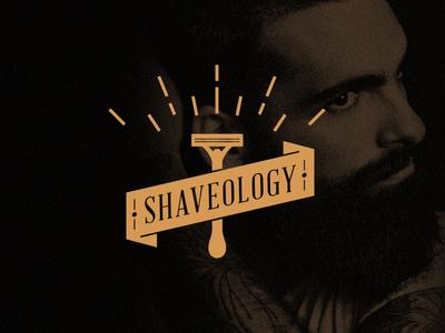 Shaveology identity brand shave