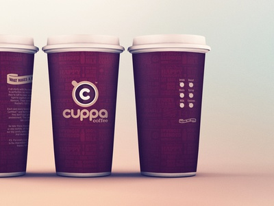 Coffee identity brand coffee