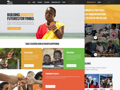 Yimbo charity website