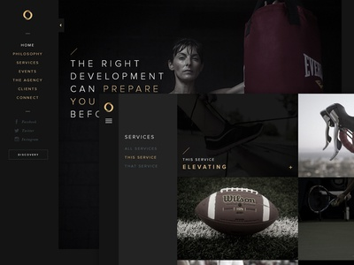 Sport identity website sport