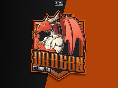 e-Sports Logo #5 fantasy esports logo drawing creative character cartoon typography characterdesign design vector illustration