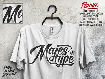 MJT Realistic T-Shirt MockUp branding mockup t-shirt tshirt mock up persentation makassar majestype dexsarharry