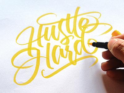 Brushpen freehand brushpen lettering typography calligraphy handlettering scripts