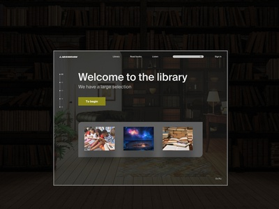 Library-Landing Page