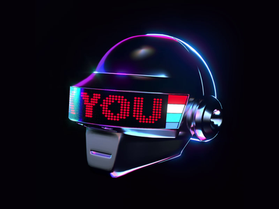 Daft Punk Tribute (1/2) daftpunk tribute animation render octane c4d 3d