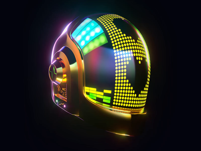 Daft Punk Tribute (2/2) neon octane animation loop tribute daftpunk c4d 3d