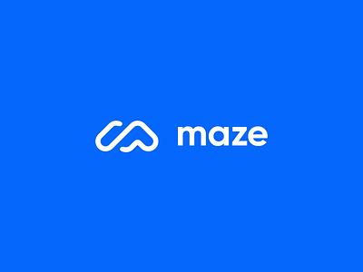 Maze Rebranding : Logo user testing testing ux rules animation blueprint logo design logo