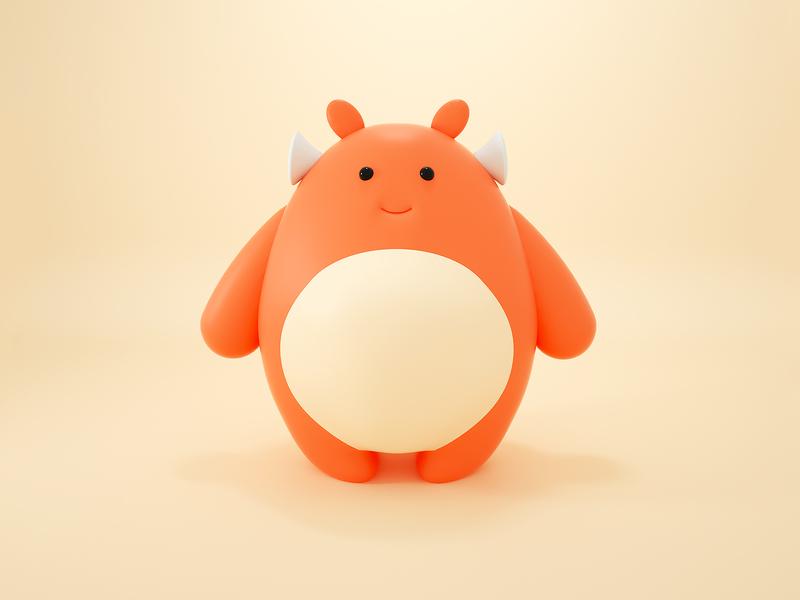 Jumbo : Character cute render charactedesign character illustration c4d 3d
