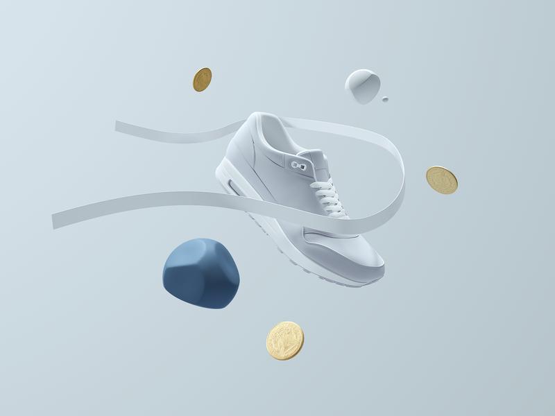 Planetary Case : Prudential render illustration color c4d 3d