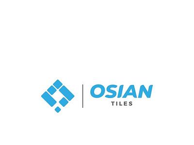 OSIAN TILES branding tiles logodesign importexport ceramic brandidentity