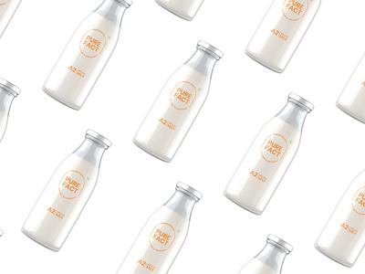 A2 Milk Packaging Design Agency in Ahmedabad logo logodesign brandidentity package design illustration design brandingagency branding