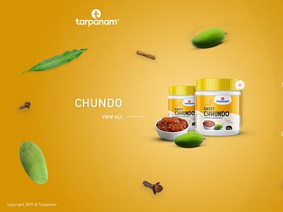 Tarpanam Foods - UI/UX Design and Website Development web typography vector ux ui design creative brandingagency