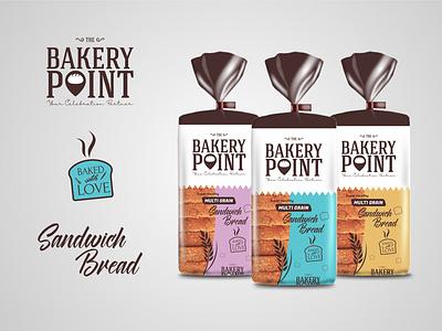 Bread Packaging Design bakery packaging bakery branding packaging typography illustration design creative brandingagency branding