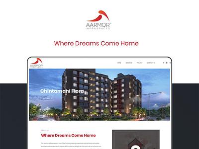Real Estate - Website Design and Development web ux website design website vector ui illustration design creative brandingagency branding graphic design