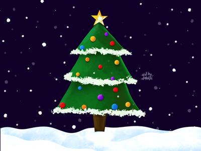 A very merry Christmas tree🎄