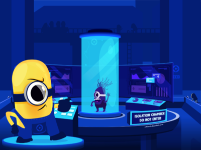Infected Minion in the Isolation Chamber