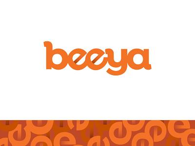 Beeya Logo & Branding Elements typogaphy brand identity brand design orange design logo branding