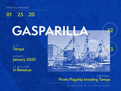 Gasparilla marketing revenue agency creative agency tampa gasparilla statistics case study design