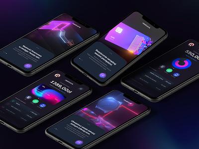 neobank 💜💙💛 uxdesign mobile design mobile uidesign ui  ux ui app design payments payment banking bankingapp bank