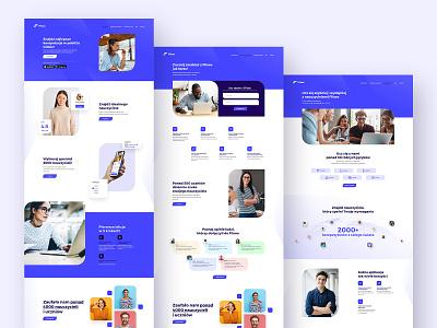 Flisoo - Website project interaction interface typography app minimal website web ui ux design