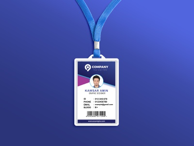 ID Card photoshop office id office id card id card