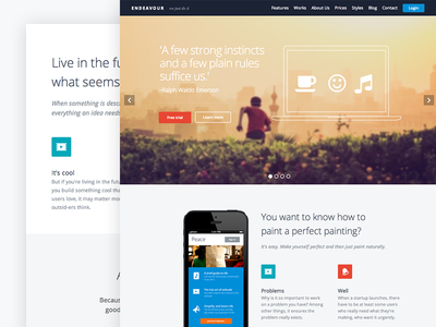 Endeavour Wordpress Theme