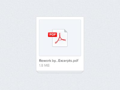 Download PDF File by zucchero on Dribbble