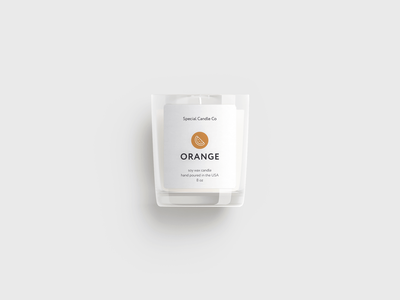 Special Candle Co Label Design