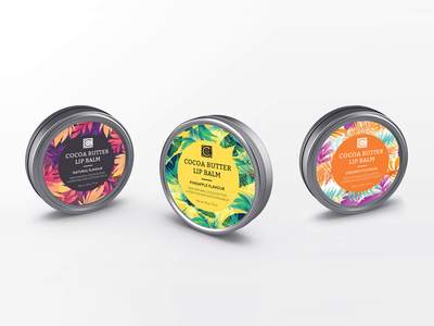 Lip Balm Label Design