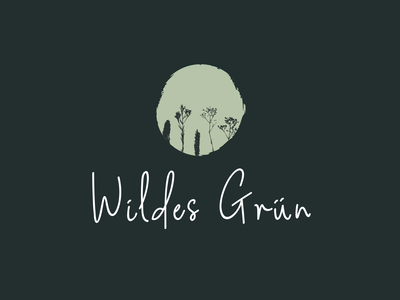Wildes Grün Logo Design