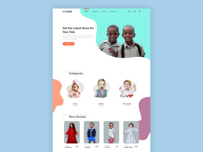 Landing Page Exploration landing page ui ux fashion design web design design