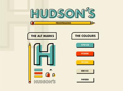 Hudson's - Branding Project
