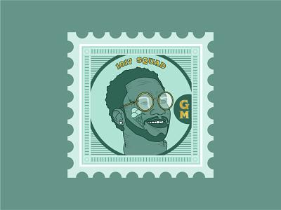 Gucci Stamp etching atlanta guccimane gucci illustration stamp