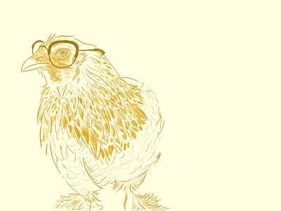 Furiosa illustrator brahma chicken animal illustration