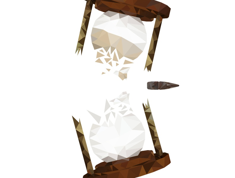 Sands of Time vector adobe illustrator low poly