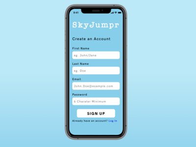 Daily UI01/Sign Up Page