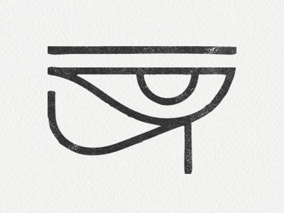 The Eye of Horus by Claes Källarsson on Dribbble