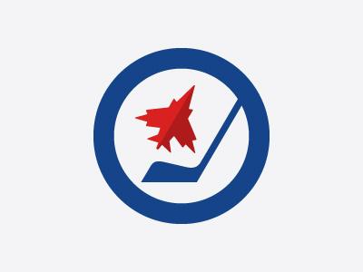 Winnipeg Jets #3 logo logotype sports