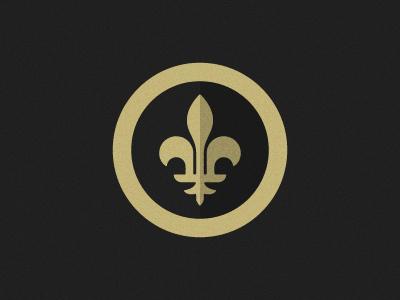 New Orleans Saints #1 logotype sports